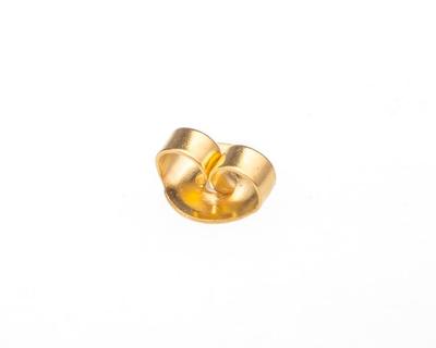 Stekker - arany színű, pillangó alakú, fülbevaló kapocs