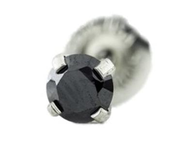 N22-0160 belőhető fülbevaló 4mm