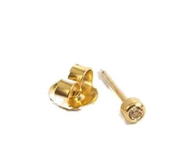 T36-0204 belőhető fülbevaló 2mm