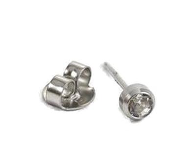 T13-0204 belőhető fülbevaló 3mm
