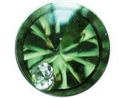 7522-4608 Studex Sensitive divat fülbevaló, zöld